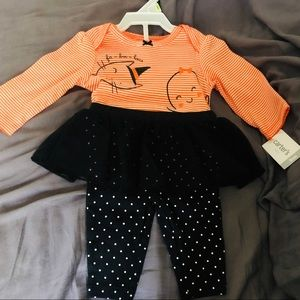 NWT Carter's Halloween Outfit